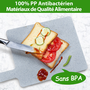 100% polyéthylène antibactérien