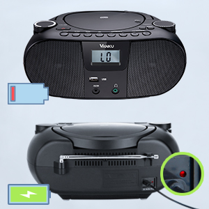 rechargeable boombox