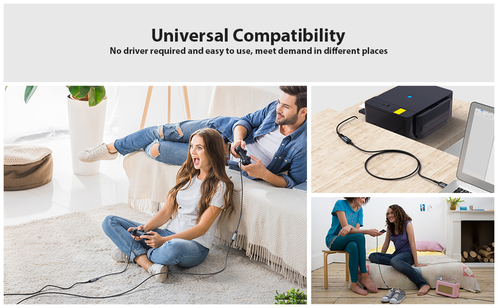 usb extension cable 6ft