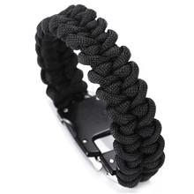 paracord self defense bracelet