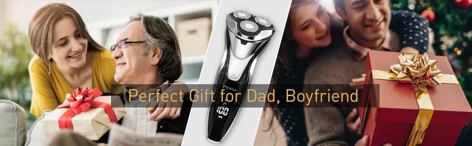 Electric razor for men