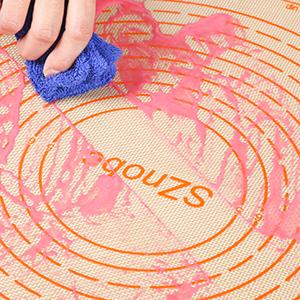 silicone pastry mat dough rolling mat