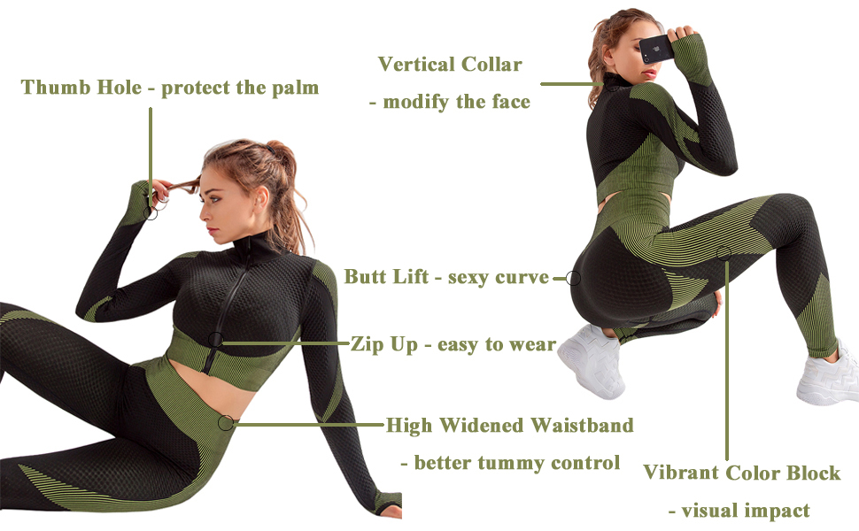 workout outfits for women 2 piece