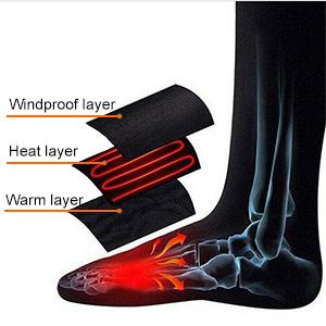 Three layers to keep your feet warm