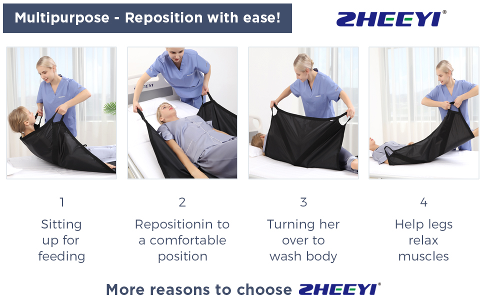 multipurpose reposition with ease