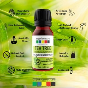 uses of tea tree essential oils