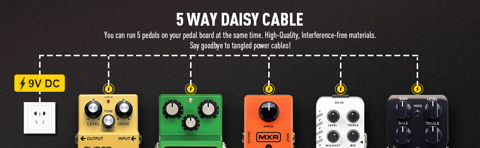 SONICAKE DAISY CABLE