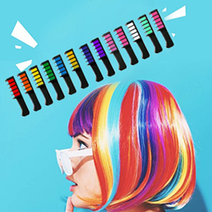 13 hair colors comb for girls