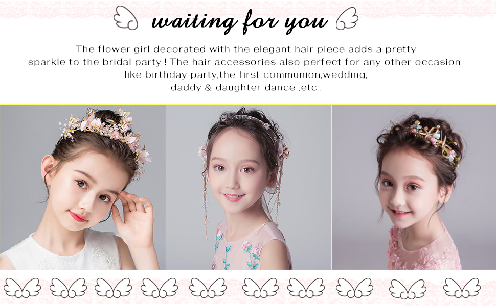 wedding hairband silver hairpiece for wedding Prom hair accessories