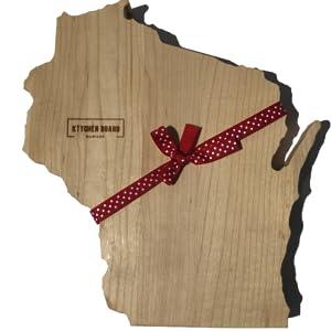 texas kitchen gift maple wood cutting board walnut hardwood kitchen chopping block thick wooden