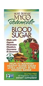 MycoBotanicals Blood Sugar