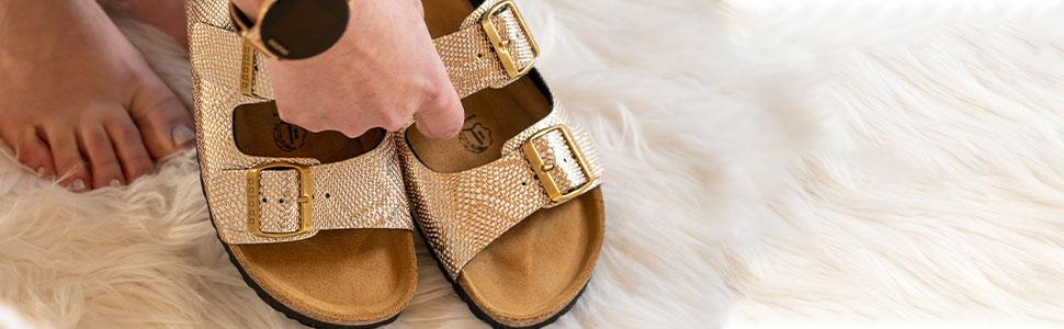 palado, wolkengehen, soft-step, pala-flor, sandalen