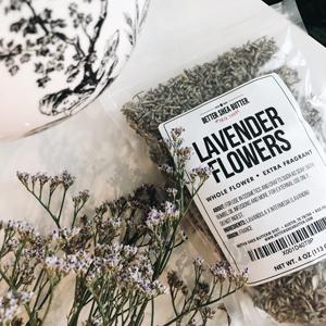 Lavender Buds in Jar