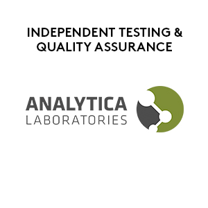 Independent Testing by Analytica Laboratories
