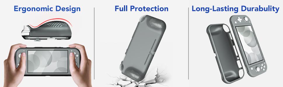 Nintendo switch lite protective case