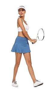 Bright Blue Tennis Skirt