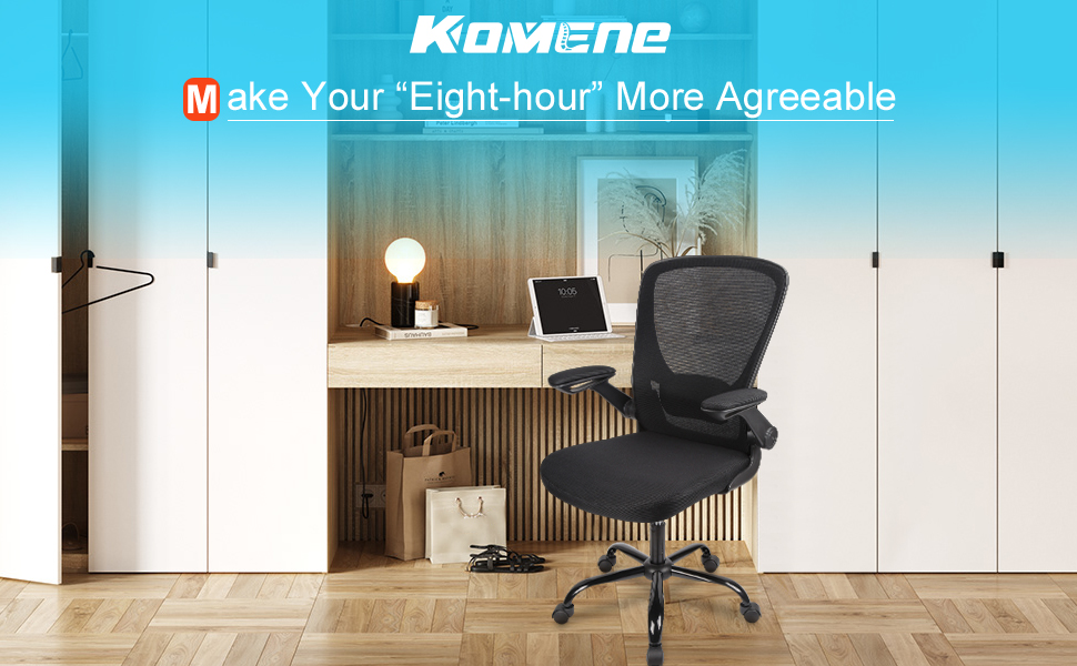 adjustable ergonomic chair grey