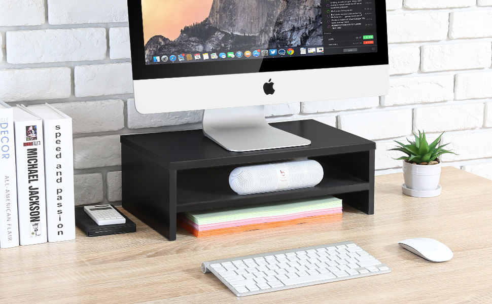 Desk Organizer Stand Save Space Computer Desk for Home Office