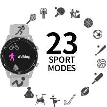 23 sport modes