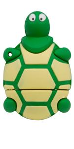 Green turtle thumb drive 16GB