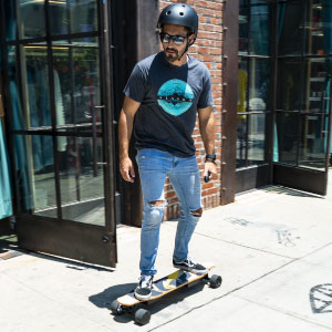 ready for a boosted e-skateboard adventure