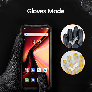 gloves mode