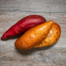Bone Broth Ingredients - Sweet Potato