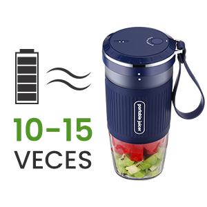 Godmorn Licuadora Portátil,Mini Bantidora de Vaso,USB Recargable ...