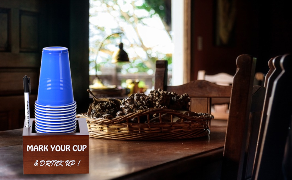 make your cup and drink up
