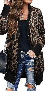 Leopard Hoodie for women
