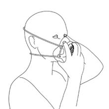 Gill Mask, Reusable Respirator, Reusable Face Mask, Disposable Face Mask, N95