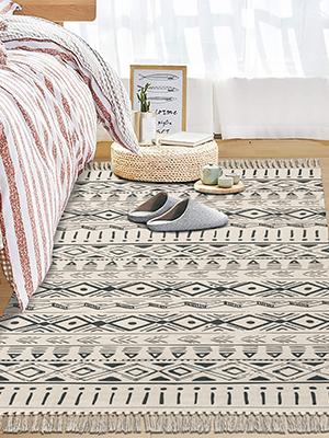 cotton area rug cotton floor mat carpets for bedroom