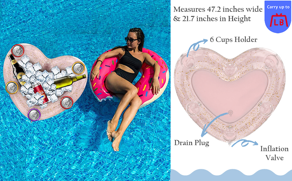 inflatable coolers for parties small inflatable pool