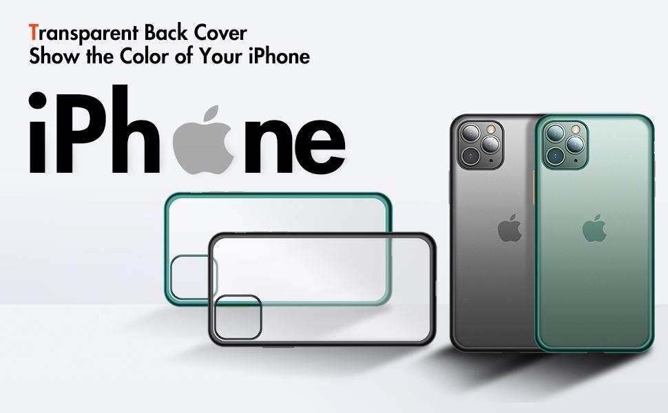 Clear Matte iPhone Case