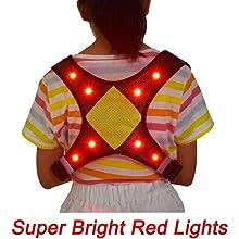 led light up vest for kids running
