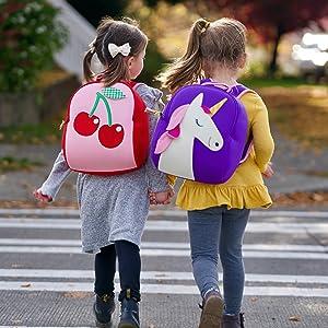 Cherry Preschool Backpack Unicorn Backpack