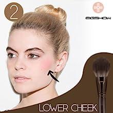 18pcs Makeup Brush Set Blush Lip Brushes Powder Liquid Cream Cosmetics Blending Brush Tool Kits