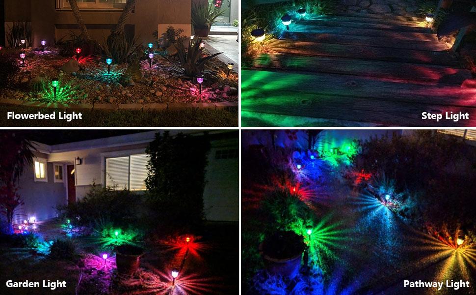 solar pathway lights for garden