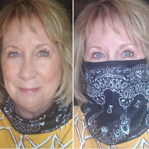 Men Face Mask Reusable Washable Cloth Bandanas Women Men Neck Gaiter Cover masks scarf Ear Loops