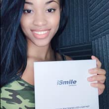 results before after teeth whitening kit ismile california mysmile hismile caliwhite pearl tooth