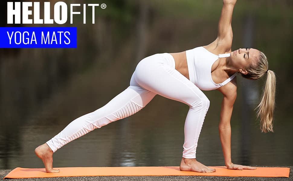 Hello Fit Budget Friendly Yoga Mats