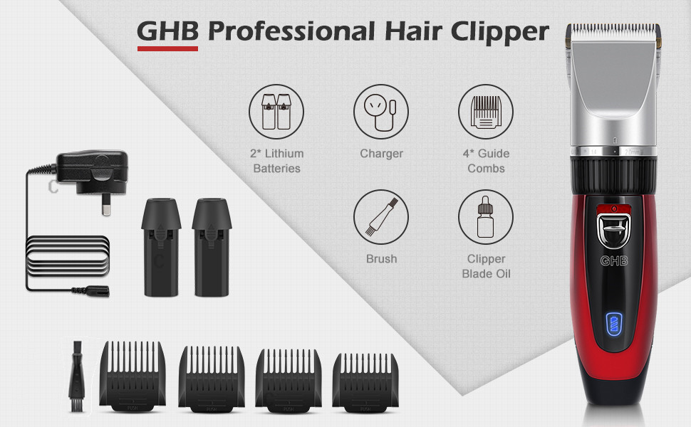 GHB Hair Clipper - Your Best Choice for Hair Cutting