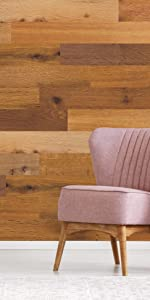 Genuine, wall panels, wall planks, peel and stick, backsplash, wood panels, wood paneling, DIY