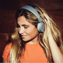 JLab neon over the ear headphones with wire