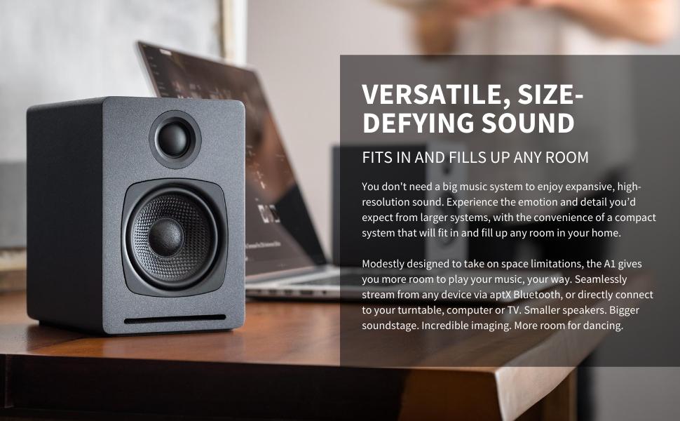 Versatile, Size-Defying Sound
