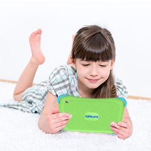 tablet for kids - Kids Tablet 7 Android Kids Tablet Toddler Tablet Kids Edition Tablet With WiFi Dual Camera Childrens Tablet 1GB + 16GB Parental Control, Google Play Store (Green)