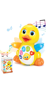 Musical Yellow Dancing Duck