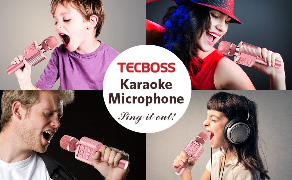 kids karaoke micphone
