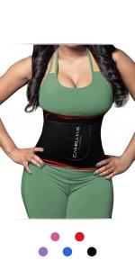 DeepTwist Mujer Cors/é Pesado Duty Entrenador de Cintura Doble Acero Linea Larga Edwardian Waist Trainer Underbust