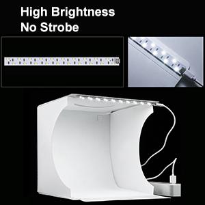 No Strobe and High Brightness